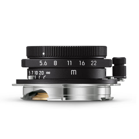 Leica Summaron-M 28mm f/5.6, matte black paint finish
