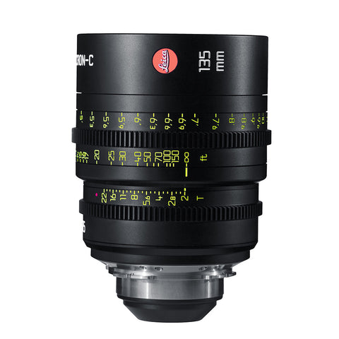 Leica Summicron-C 135mm T2.0 - PL Mount (Markings in Feet)