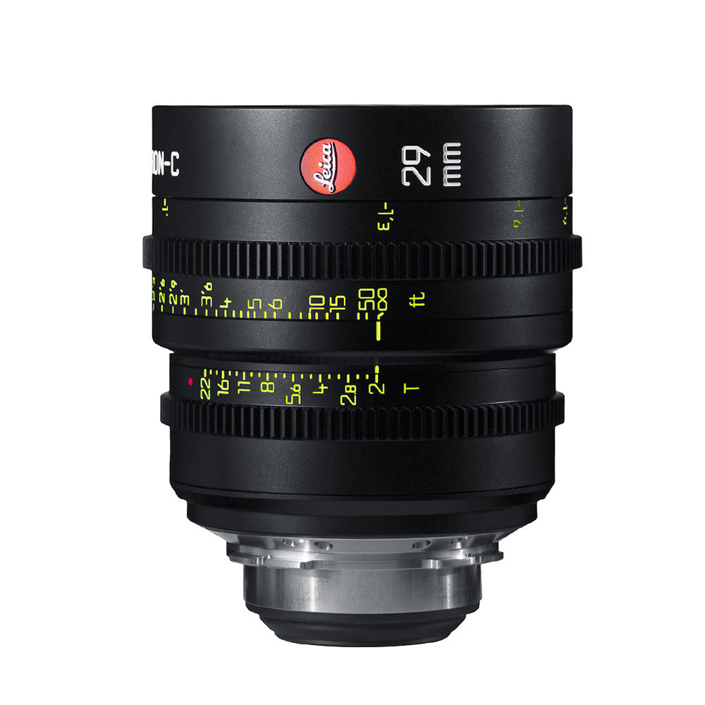 Leica Summicron-C 29mm T2.0 - PL Mount (Markings in Feet)