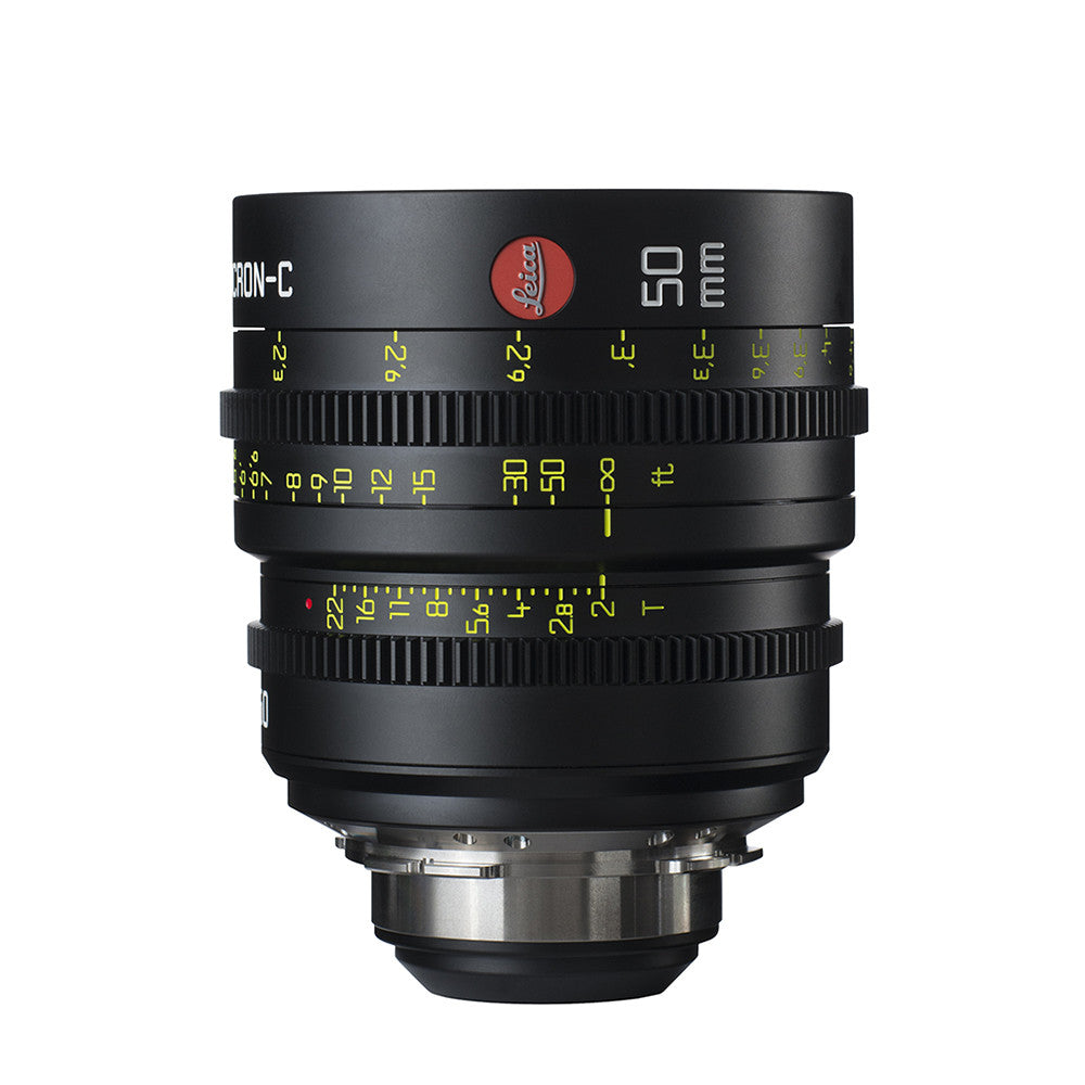 Leica Summicron-C 50mm T2.0 - PL Mount (Markings in Feet)