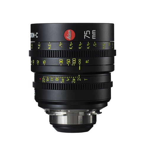 Leica Summicron-C 75mm T2.0 - PL Mount (Markings in Feet)