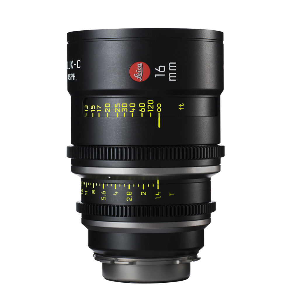 Leica Summilux-C 16mm T1.4 - PL Mount (Markings in Feet)
