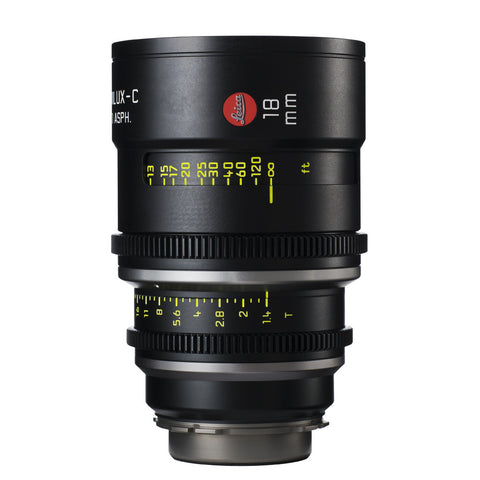 Leica Summilux-C 18mm T1.4 - PL Mount (Markings in Feet)
