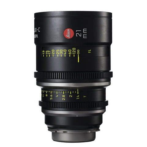 Leica Summilux-C 21mm T1.4 - PL Mount (Markings in Feet)