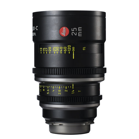 Leica Summilux-C 25mm T1.4 - PL Mount (Markings in Feet)