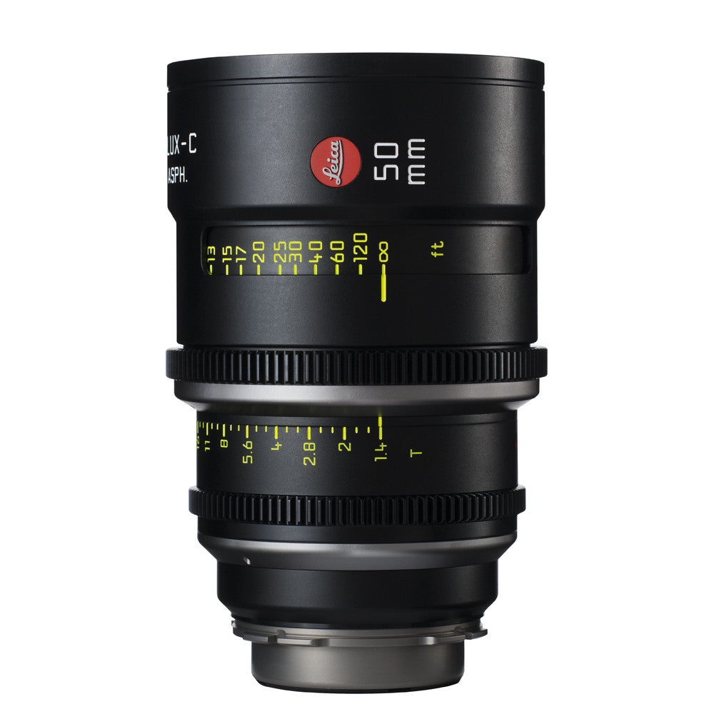 Leica Summilux-C 50mm T1.4 - PL Mount (Markings in Feet)