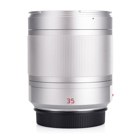 Certified Pre-Owned Leica Summilux-TL 35mm f/1.4 ASPH, silver anodized