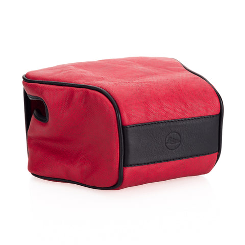 "Used Leica Q2 ""Ettas Pouch"", coated canvas, red"