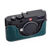Arte di Mano Half Case for Leica M10 with Battery Access Door - Minerva Blue