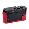 Arte di Mano Half Case for Leica M10 with Battery Access Door - Buttero Red