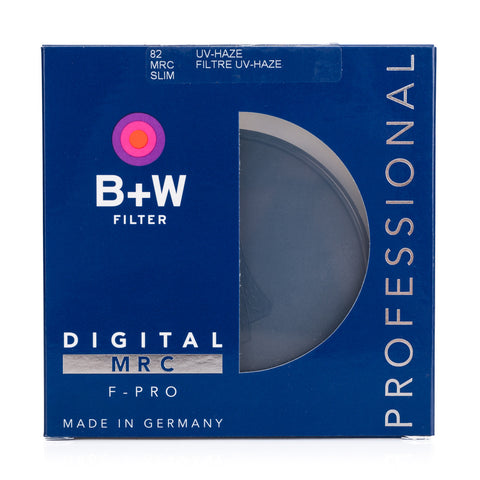 B+W 82mm F-Pro 010M UV-Haze Filter MRC