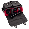 Oberwerth Boulevard Tablet - Leather Camera Bag, Black with Red Lining