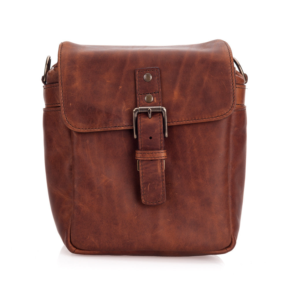 ONA Bond Street Leather Camera Bag and Insert - Antique Cognac
