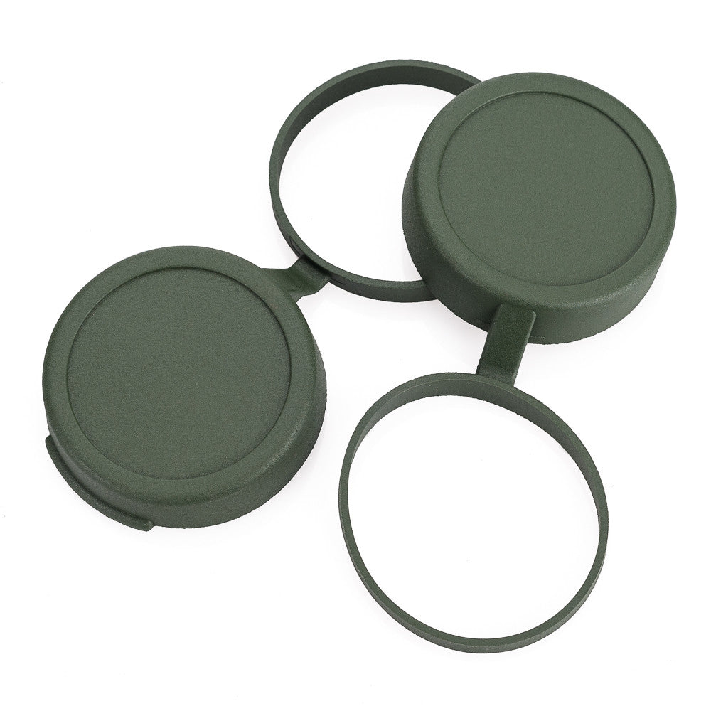 Leica 42x Ultravid Objective Covers, Safari Green (Set of 2)