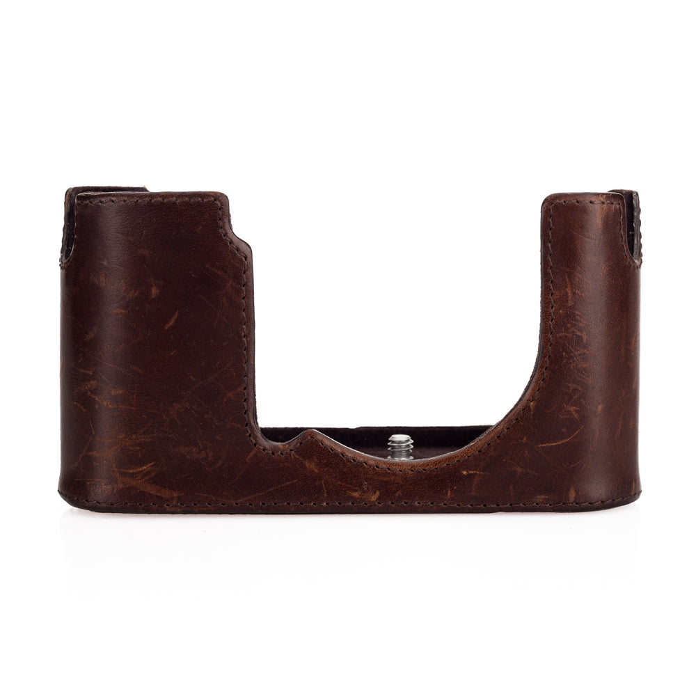 Used Leica CL Camera Protector, leather, brown