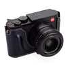 Arte di Mano Leica Q2 Half Case with Battery & SD Card Access Door - Bridle Navy