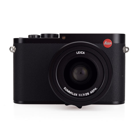 Used Leica Q (Typ 116), black - Thumbs Up & Half Case