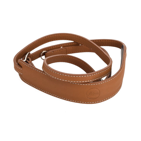 Used Leica D-LUX Leather Neck Strap, Cognac