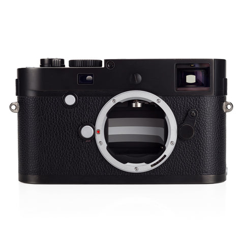 Used Leica M Monochrom (Typ 246), Black Chrome - 3 Extra Batteries - Recent Leica CLA