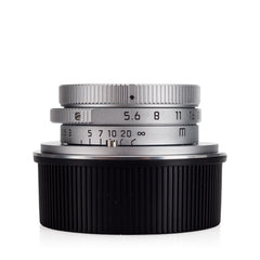 Certified Pre-Owned Leica Summaron-M 28mm f/5.6, Silver Chrome