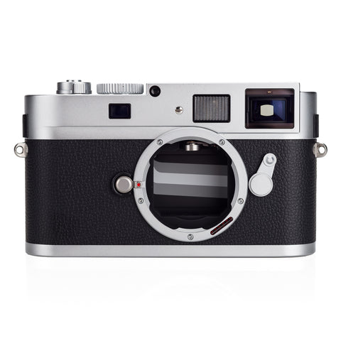 Used Leica M Monochrom, silver chrome - Extra Battery & Thumbs Up (1,929 Shots, New CCD, Recent Leica CLA)