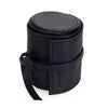 Oberwerth Donau Leather Lens Wrap, Black, Medium