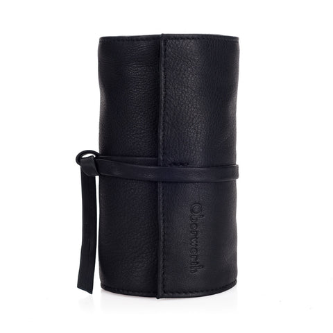 Oberwerth Leather Lens Wrap, Black, Large