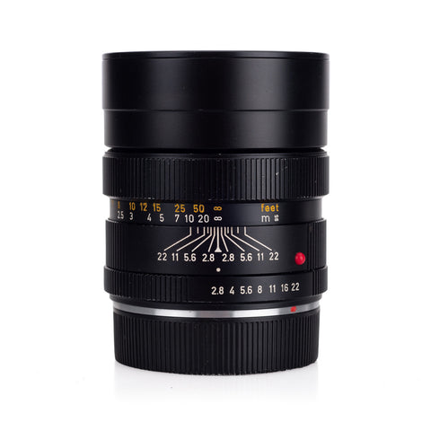 Used Leica Elmarit-R 90mm f/2.8 V1 3-CAM (1978) - Recent DAG CLA