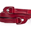 Artisan & Artist* ACAM 280 Leather Padded Strap-Red