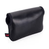 Artisan & Artist* ACAM 413X Neoprene/Leather Body Pouch