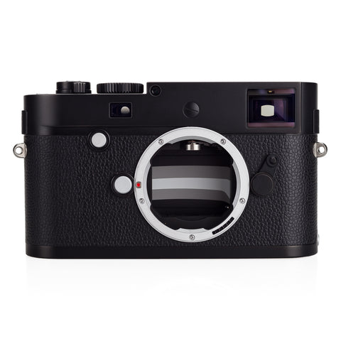 Used Leica M Monochrom (Typ 246), Black Chrome - 2 Extra Batteries