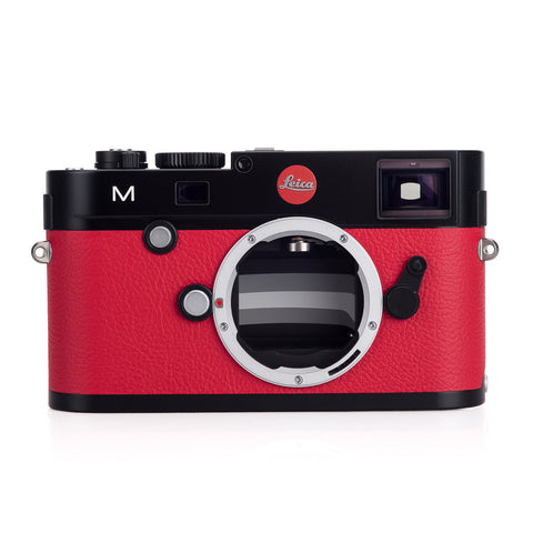 Certified Pre-Owned Leica M (Typ 240) A La Carte, Black Body/Red Leather