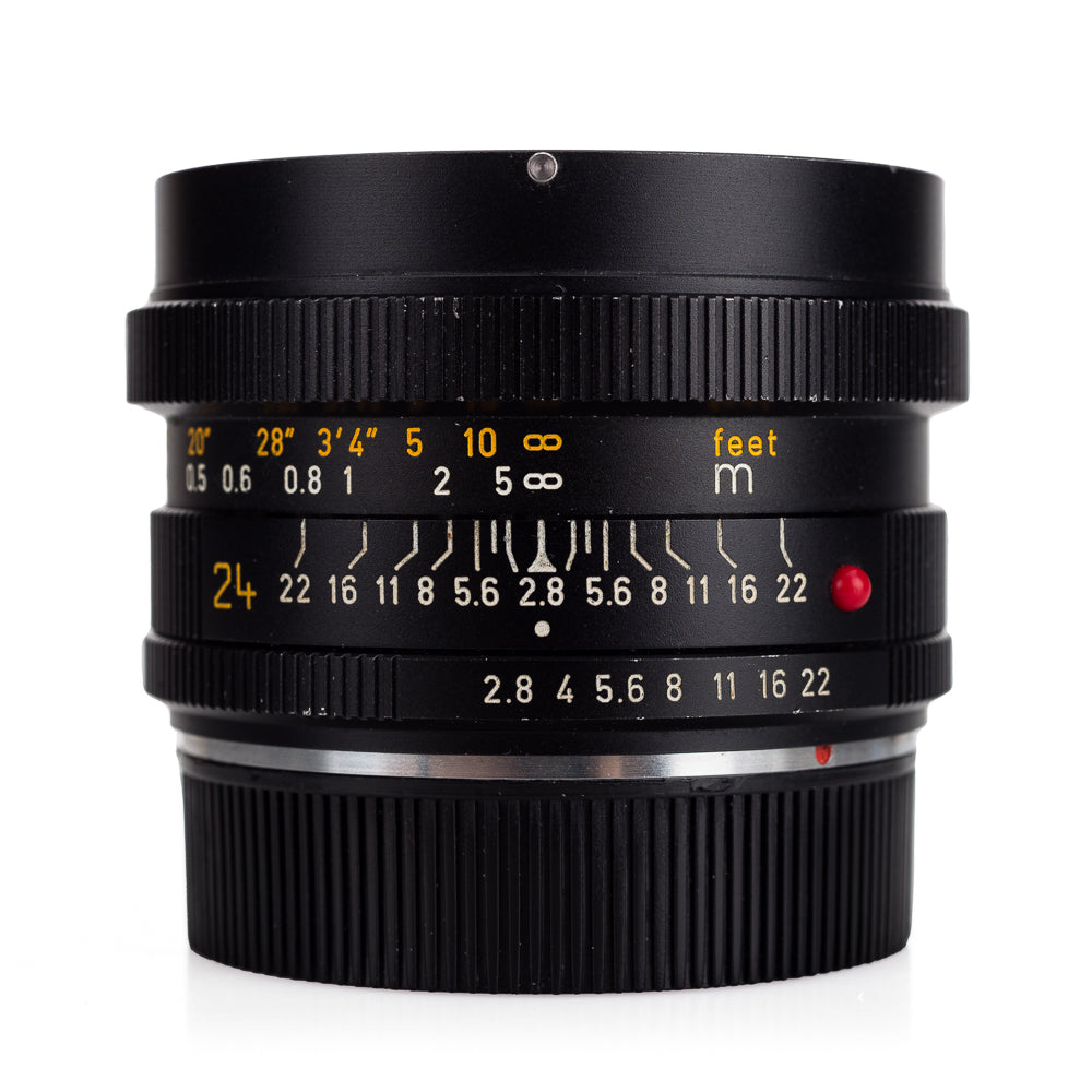 Used Leica Elmarit-R 24mm f/2.8 3-CAM