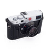 Arte di Mano Aventino Half Case for Leica M/M-P (Typ 240) - Minerva Black with White Stitching