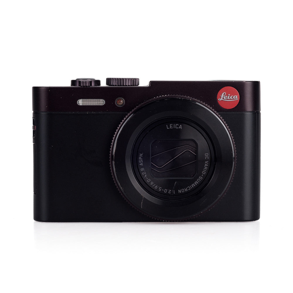 Used Leica C, Dark Red - 2 Extra Batteries