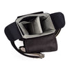 Oberwerth George Small Leather Camera Bag, Dark Brown