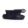 Arte di Mano Extra Long Classic Neck Strap - Minerva Black with Black Stitching
