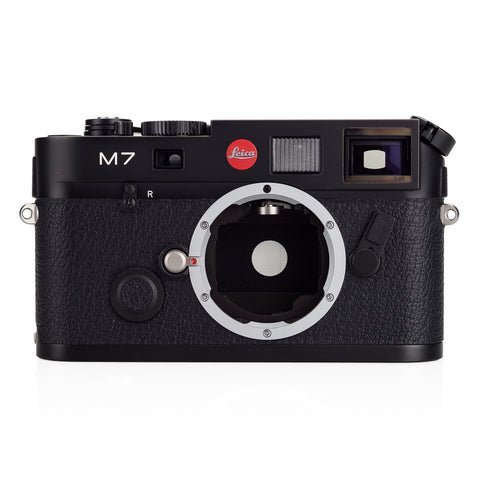 Used Leica M7 0.85x, black chrome (MP Finder) - Recent DAG CLA