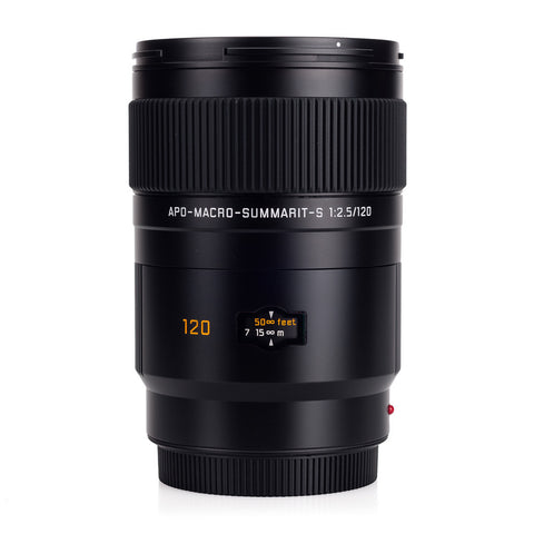 Certified Pre-Owned Leica APO-Macro-Summarit-S 120mm f/2.5 (New Focus Motor)