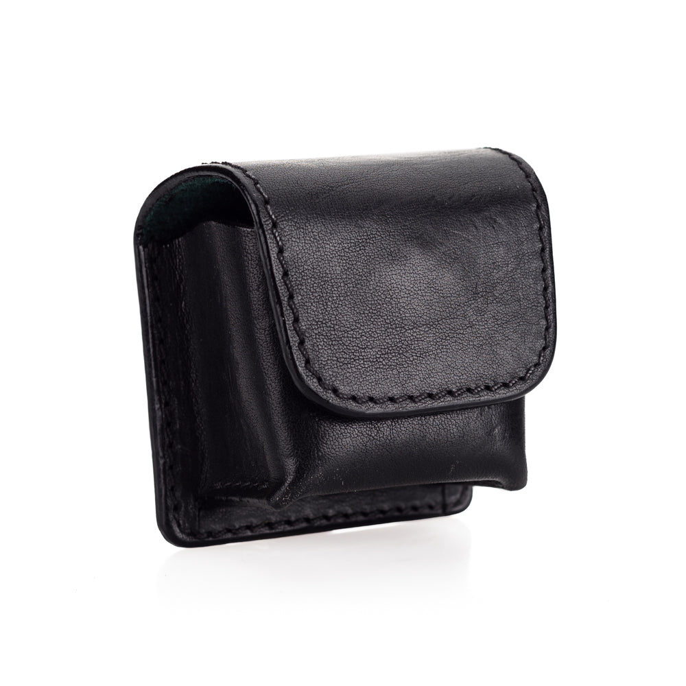 Used Arte di Mano Leather Pouch for Leica EVF2 - Minerva Black with Black Stitching