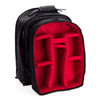 "Oberwerth Matterhorn Medium (13"") Camera Backpack - Leather - Black with Red Lining"