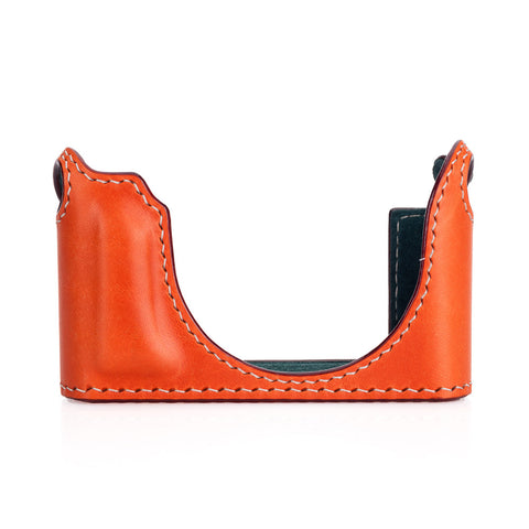 Arte di Mano Half Case for Leica D-Lux 7 & Typ 109 - Buttero Orange