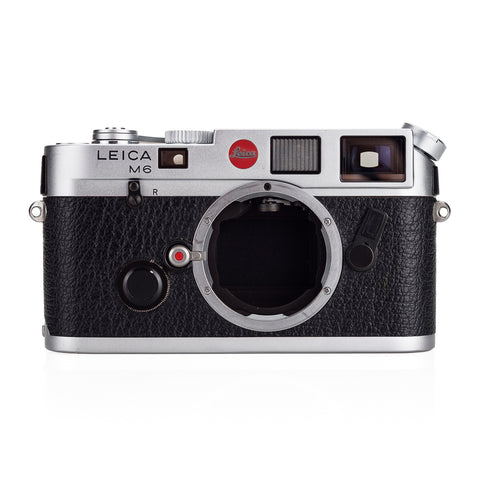 Used Leica M6 0.72, silver chrome with MP Advance Lever - Recent YYE CLA