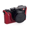 Arte di Mano Half Case for Leica D-Lux 7 & Typ 109 - Rally Bordo