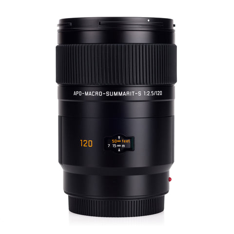 Used Leica APO-Macro-Summarit-S 120mm f/2.5 - Recent Leica CLA (New Focus Motor)