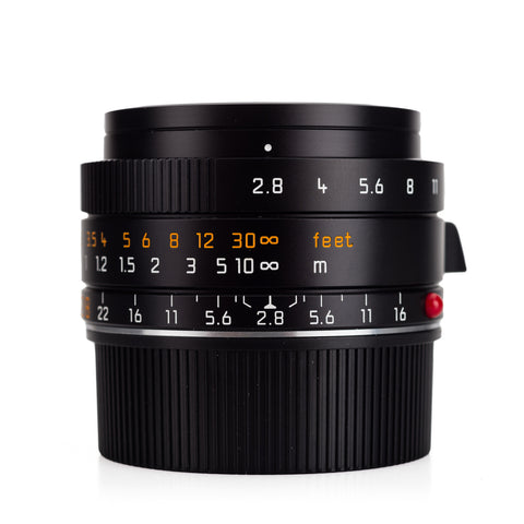 Used Leica Elmarit-M 28mm f/2.8 ASPH, black (V2) - Recent Leica CLA