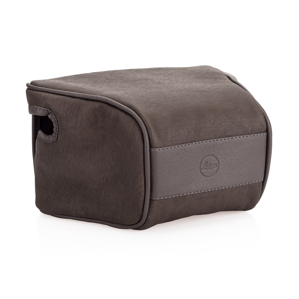 "Leica Q2 ""Ettas Pouch"", coated canvas, stone grey"
