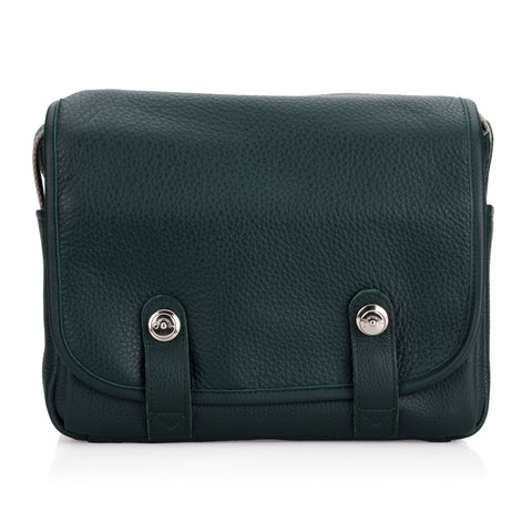 Oberwerth Harry & Sally Leather Camera Bag, Green