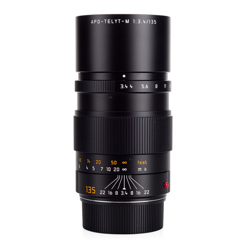 Used Leica APO-Telyt-M 135mm f/3.4 - 6-Bit - B+W Filter