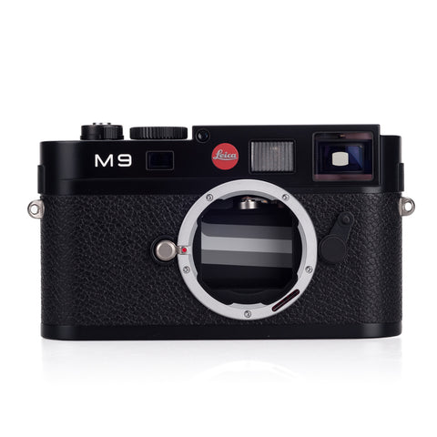 Used Leica M9 Black Paint (New CCD) - Recent Leica CLA - 2,071 Shots
